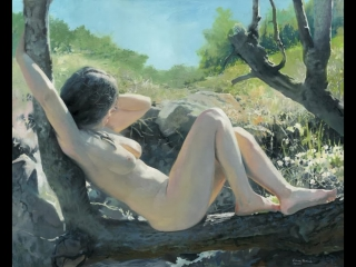 D.W.C. Nature and Nude - Painter Denis Chernov