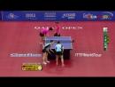 Парная игра Din Nin Liu Shiwen VS Ai Fukuhara Mima Ito