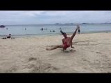 White sand powermoves fun