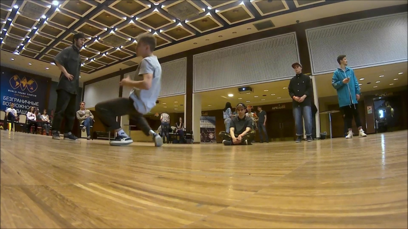 B-boy Florist | Dance battle