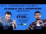 Фогеймер-стрим. Антон Белый и Паша Сивяков играют в TES3: Morrowind. Часть вторая