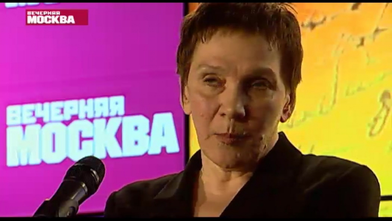 Наталия Гранковская в передаче Вечерние стихи 25 марта 2015