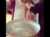 Покрестили нашу малышку