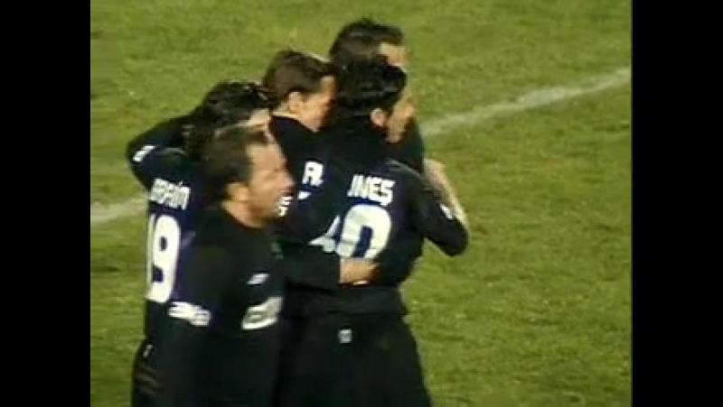 2005 - 2006 Sezonu - Diyarbakırspor-Beşiktaş dakika 15 gol Gökhan Güleç