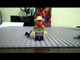 обзор на китайскую фигурку лего ниндзяго Джеспер с тележкой от фирмы LELE