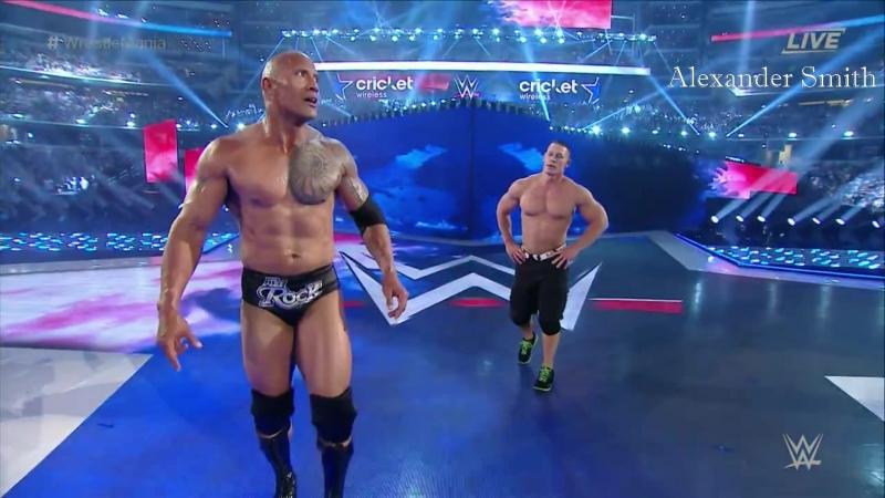 John Cena vs. The Rock