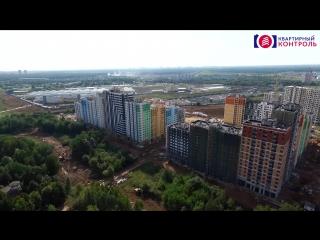 Аэросъемка ЖК «Лучи» (сентябрь 2017)