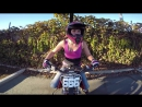 Girl tries triple flip on dirt bike and crashes then nails it on next try