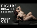 Figure Drawing Session: Week 1 - Nude Model Art Reference