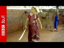 The sword-fighting granny from India.