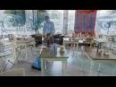 Compact floor scrubber drier turbolava 35 PLUS