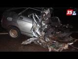 Двое молодых людей погибли сегодня ночью в ДТП в Вологодском районе