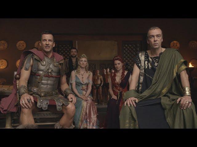 Спартак:Кровь и Песок Спартак против людей Глабра (Часть 1)