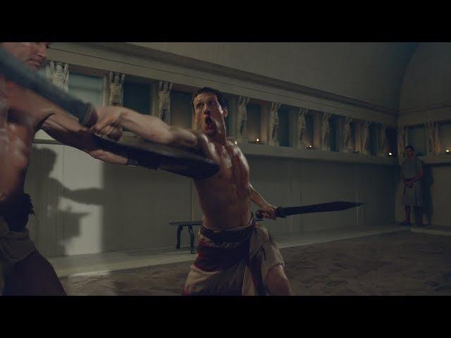 Спартак:Война Проклятых Последнее испытание Марка Красса перед походом на Спар...