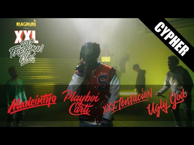 Playboi Carti XXXTentacion Ugly God and Madeintyo's 2017 XXL Freshman Cypher