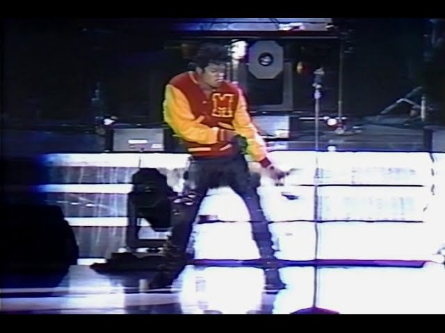 Michael Jackson - Thriller - Live in Rome 1988