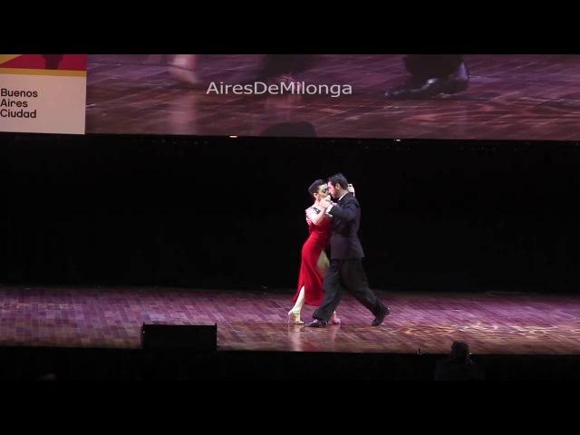 Mundial de Tango 2016 Final escenario, Sergio M Almirón, Giovanna di Vicenzo