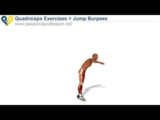 P4P Best army exercise: Jump Burpees