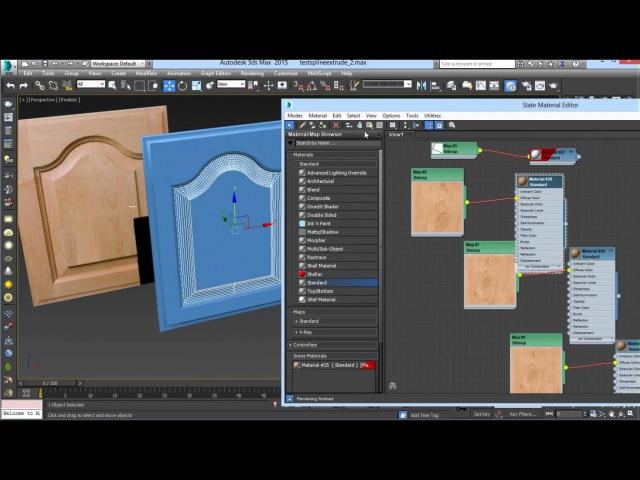 Raised panel Door -3dsMax - part 2 of 2
