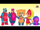 Spiderman Transforms Into Masha And The Bear Finger Family - Spiderman Nursery Rhymes