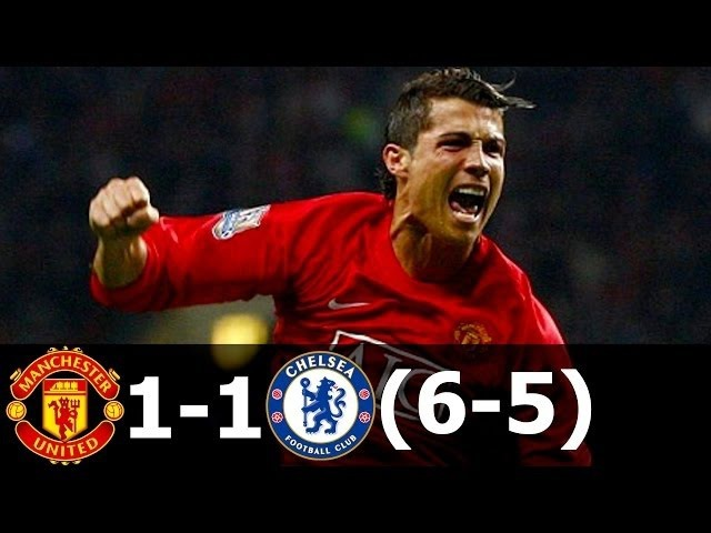 Манчестер Юнайтед 1-1(6-5) Челси - Финал ЛЧ 2007/08 HD