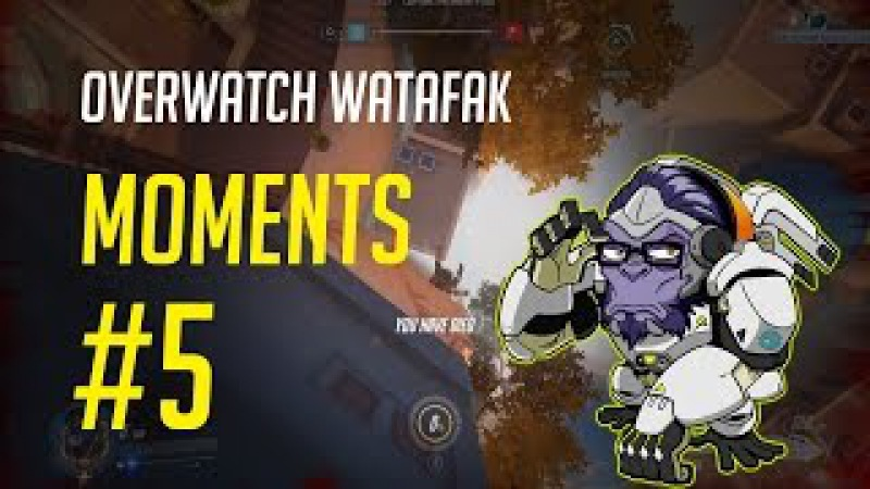 Overwatch Watafak Moments 5