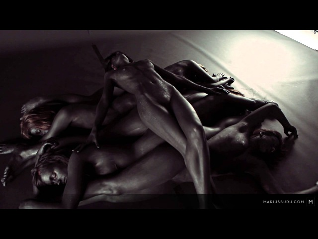 Behind the Scenes on Marius Budu's 'Midnight' nude art photography group photo shoot