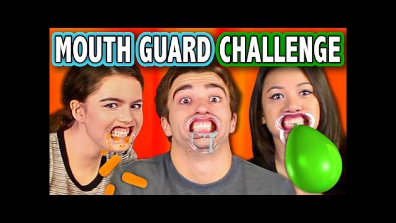 MOUTHGUARD CHALLENGE (ft. React Cast FBE Staff) | Challenge Chalice