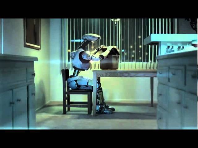 Robot (extended version) - Hand-Breaded Chicken Fillet Sandwich