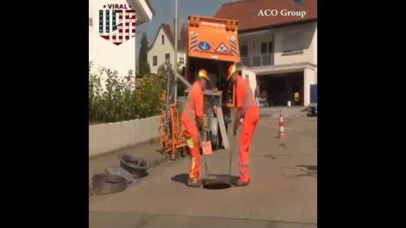 Fast Manhole Reparation With ACO Manhole Cover