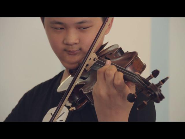 Мастер-класс А.Б. Тростянского (скрипка). Часть II.