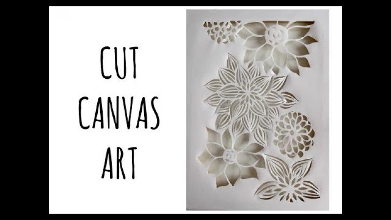 Cut Canvas Art: cos'è e come si fa (Creatività-tecniche artistiche) Arte per Te