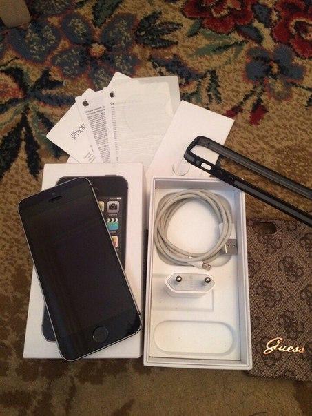Продам iPhone 5s 16 gb в достойном состоянии , все функции работают от
