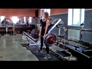 Даша (51 кг) Становая тяга 90 кг х 3 Light weight (   )