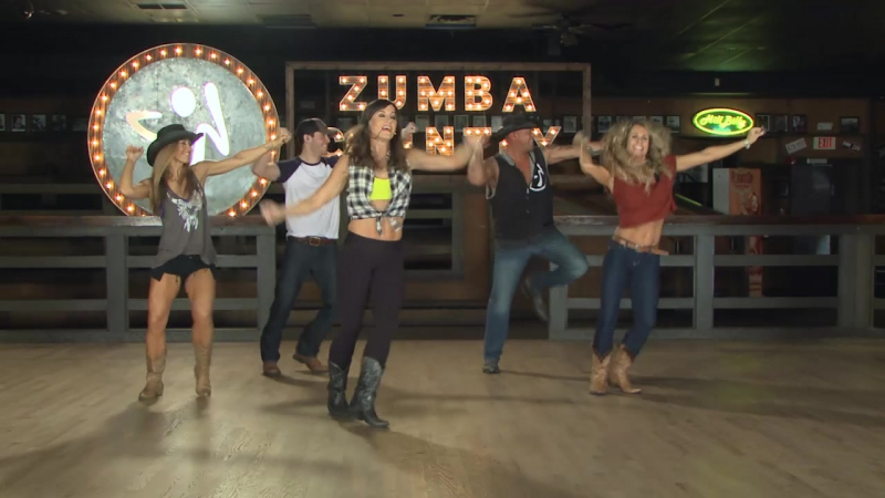 Zumba Country - 03 Bubba Shot The Jukebox - Country - Cues On