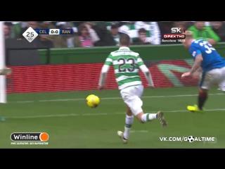 Селтик - Рейнджерс 1:1. Обзор матча. Шотландия. Премьер-лига. 28 тур.