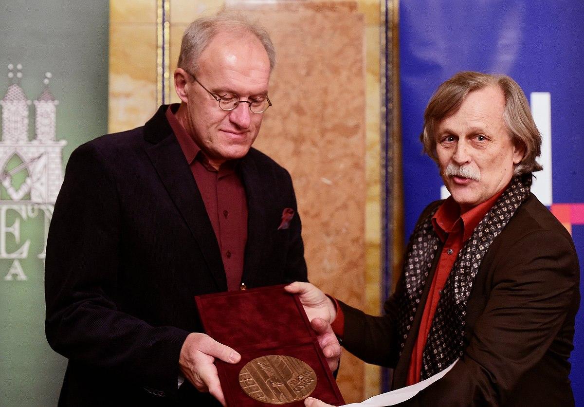 Петр Котык стал лауреатом премии Чешского ПЕН-клуба 2017 года