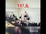 Юлия Медведева - жим лежа 162,5 кг на 2 повтора
