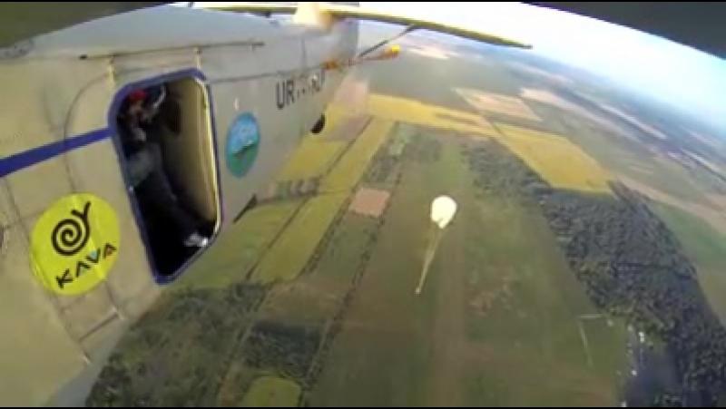 стрибок з парашутом. 29.07.2017р. 1:47 мій стрибок-кому цікаво звісно
