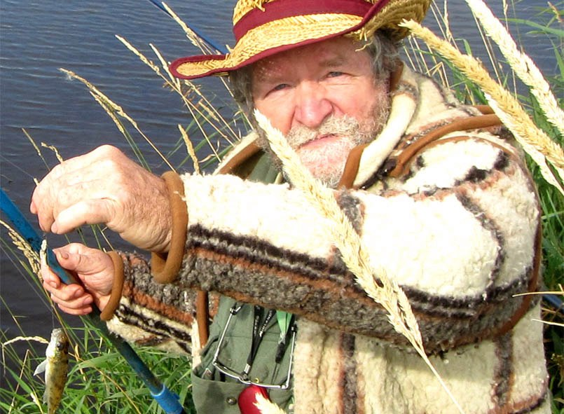 Погода была дрянная и рыбалка ей соответствовала
