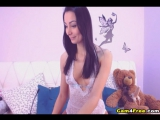Slim Girl With Beautiful Face On Cam