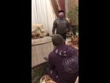 Видео репетиции Галустяна и Кадырова номера для КВН