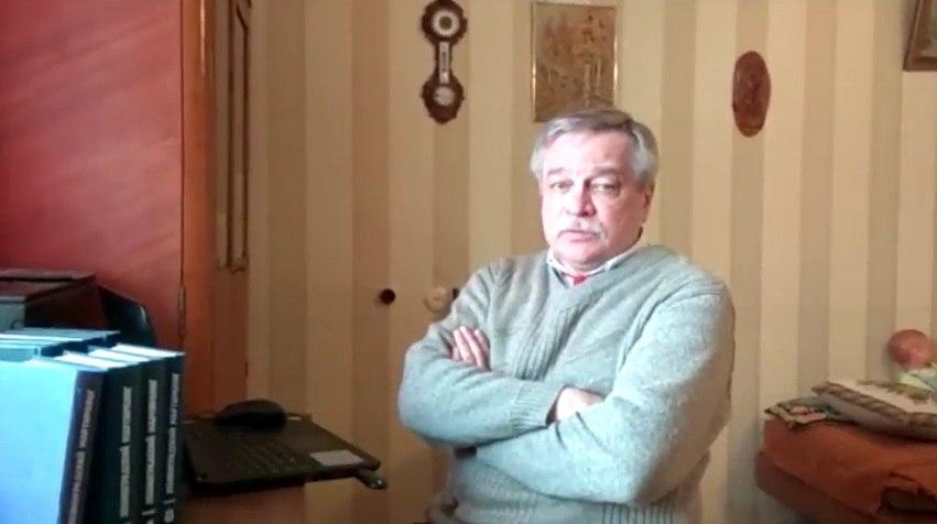 Историк Анатолий Разумов записал видеообращение в защиту политзаключенного Юрия Дмитриева