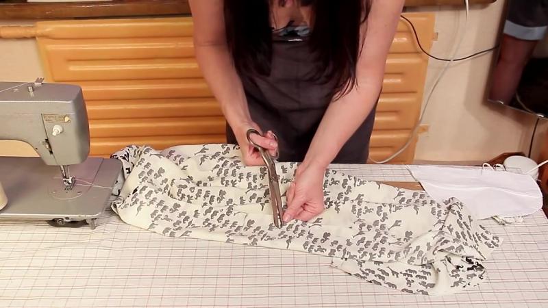 Как сшить летнее платье, How to Sew a Summer Dress