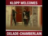 Клопп приветствует Окслейд-Чемберлена