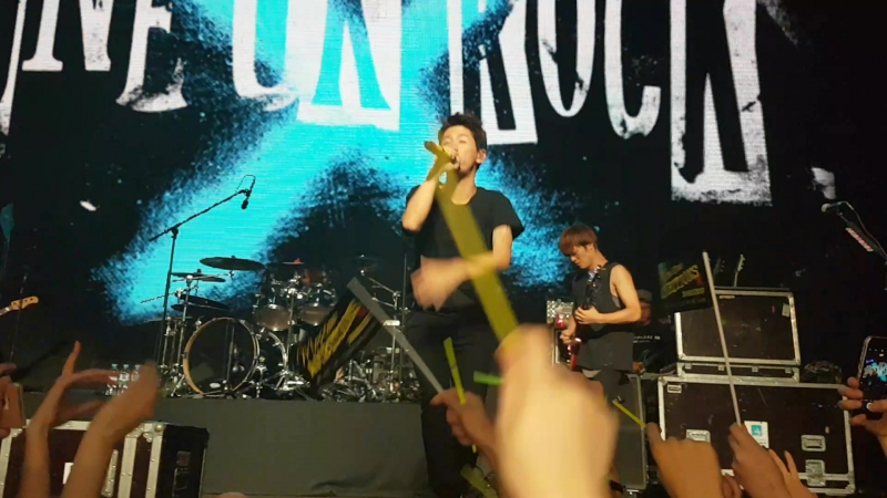 One Ok Rock in Moscow 30.08.2017 - Taking Off