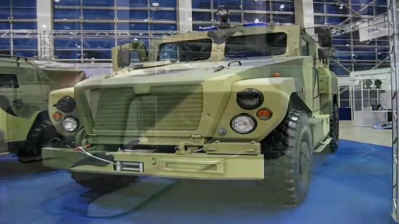 Russian MRAP vehicle VPK-3924 Medved SPM-3_ВПК-3924 Медведь СПМ-3 video walkaround