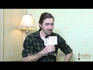 Lee's interview for MGTV in China part 2.