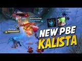 NEW PBE KALISTA - IS SHE BACK (League of Legends)
