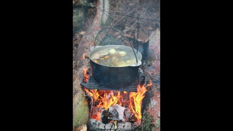 Уха. Лес. Озеро. Лесная кухня. Soul Kitchen